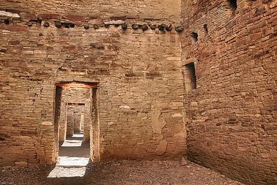 Chaco Ruin in Pueblo Benito