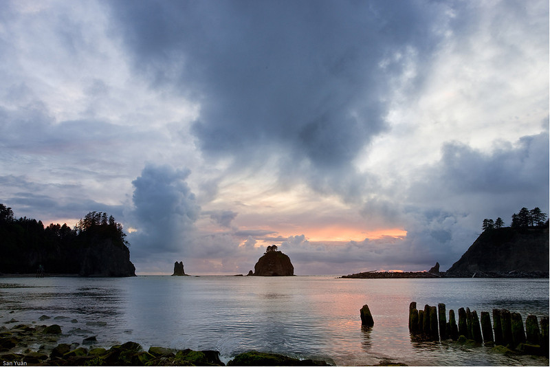 Stormy evening_La Push Beach