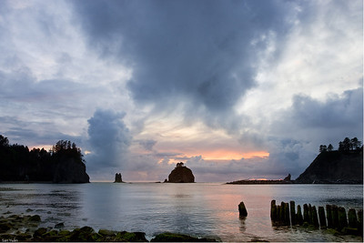 Stormy evening_La Push Beach