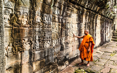 BAS_Reliefs at Bayon Temple