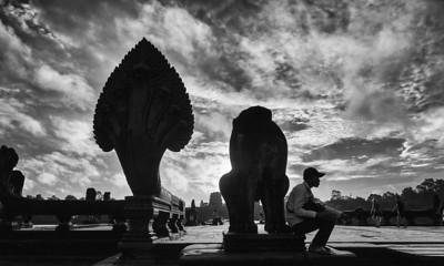 Angkor Wat Enterance