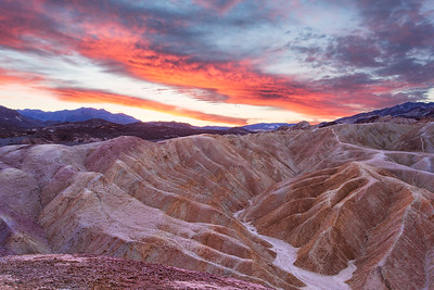 The Badlands at Sunrise_A