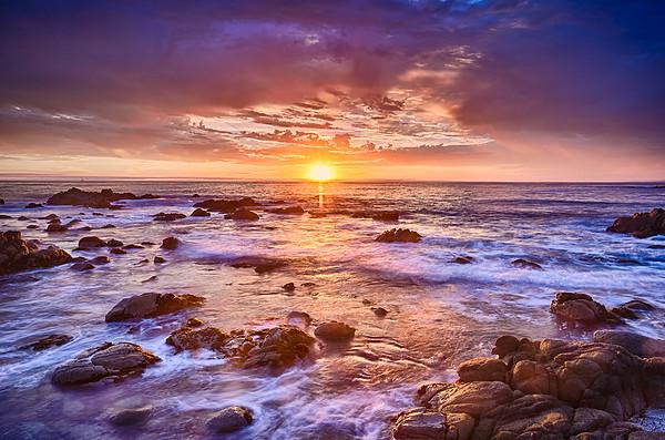 Asilomar Beach Sunset_best