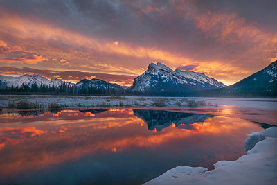 Sunrise Over Vermillion Lake