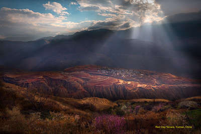 REd Clay Terrace, Yunnan