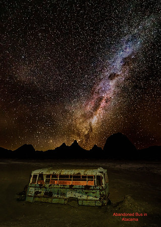 Abandoned Bus in Atacama