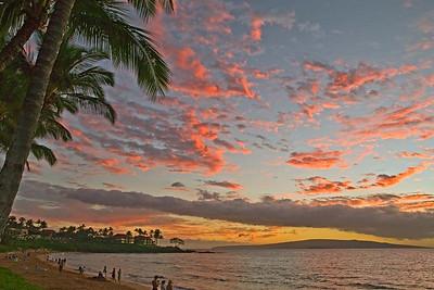 Sunset Over Wihlea