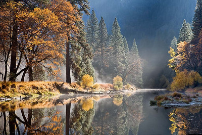 The Moment on Merced River No 2