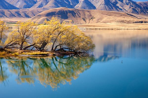 Heron Lake, New Zealand