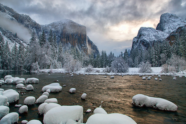 Let there be Light, Yosemite