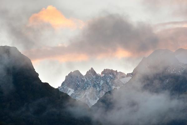 Mount Tasman, New Zealand