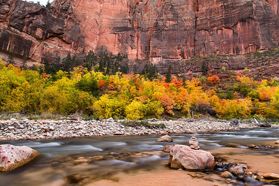 Virgin River at Zion NP