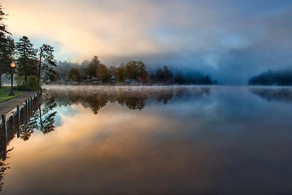 Lake Saranak, Adirondack, NY