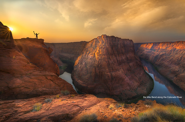 Number 3 Bend, Page, Horseshoe Bend, Mendenhall Loop along the San Juan River, Mark Metternich Chasing the Monsoon