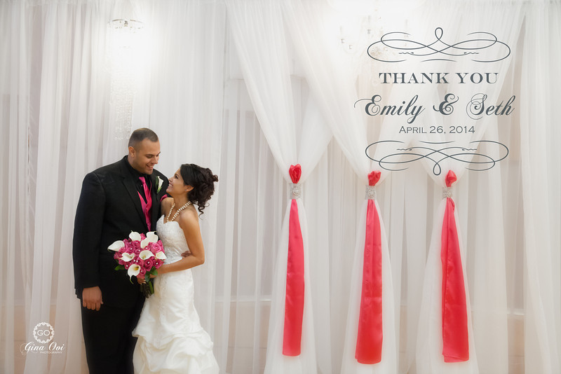 """A """"Thank You"""" card that we create for our bride & groom within 3 business days."""