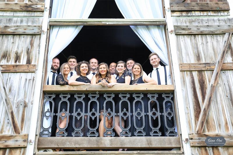 The Bridesmaids & Groomsmen