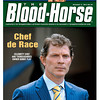 November 5, 2011 Issue 44 Cover of The Blood-Horse with Bobby Flay.