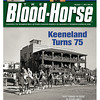 October 1, 2011 Issue 39 Cover of The Blood-Horse with Keeneland's 75th Anniversary.