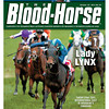 October 22, 2011 Issue 42 Cover of The Blood-Horse with Sarah Lynx winning Woodbine's Canadian.