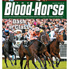 June 30, 2012 Issue 26 Cover of The Blood-Horse with Black Caviar at the 2012 Royal Ascot.<br /> <br /> © The Blood-Horse