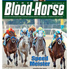 April 21 Issue 16 Cover of The Blood-Horse with Bodemeister winning the Arkansas Derby.<br /> <br /> © The Blood-Horse