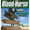 February 4, 2012 Issue 5 Cover of The Blood-Horse.<br /> <br /> © The Blood-Horse
