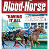 "May 12, 2012 Issue 19 Cover of The Blood-Horse with I""ll Have Another winning the 2012 Kentucky Derby.<br /> <br /> © The Blood-Horse"