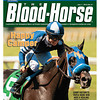 July 7, 2012 Issue 27 Cover of The Blood-Horse with Camp Victory winning the Triple Bend.<br /> <br /> © The Blood-Horse