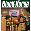 November 17, 2012 Issue 47 Cover of The Blood-Horse featuring Pure Clan as the top seller at Keeneland's November Sale<br /> <br /> © The Blood-Horse