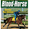 May 5, 2012 Issue 18 Cover of The Blood-Horse with Union Rags before the 2012 Kentucky Derby.<br /> <br /> © The Blood-Horse