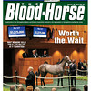 August 18, 2012 Issue 34 Cover of The Blood-Horse with Wait No More being sold for $1.575 million at F-T Saratoga.<br /> <br /> © The Blood-Horse