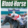 February 18, 2012 Issue 7 Cover of The Blood-Horse with Hymn Book in The Donn Stakes.<br /> <br /> © The Blood-Horse