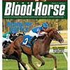 February 11, 2012 Issue 6 Cover of The Blood-Horse with Battle Harden.<br /> <br /> © The Blood-Horse