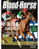 April 6, 2013 Issue 14 Cover of Blood-Horse featuring Animal Kingdom winning the Dubai World Cup<br /> © Blood-Horse