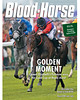 June 29/July 6, 2013 Issue 25 Cover of Blood-Horse featuring Queen Elizabeth's Estimate winning the Gold Cup at Royal Ascot<br /> © Blood-Horse