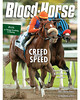 January 5, 2013 Issue 1 Cover of Blood-Horse featuring Jimmy Creed rolling to victory in the Malibu<br /> © Blood-Horse