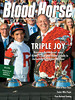 August 24, 2013 Issue 33 Cover of Blood-Horse featuring Triple Joy: Ramsey Farm-bred sons of Kitten's Joy win three grade Is including Arlington Million.
