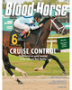 March 16, 2013 Issue 11 Cover of Blood-Horse featuring Verrazano winning the Tampa Bay Derby<br /> © Blood-Horse