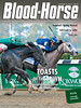 October 12, 2013 Issue 40 Cover of Blood-Horse<br /> Toasts Of The Town<br /> Havana outlasts Honor Code in the Champagne.