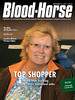 November 16, 2013 Issue 45 of The Blood-Horse featuring Mandy Pope at the Keeneland November Sale where she purchased Groupie Doll.