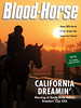 November 2, 2013 Issue 43 Cover of Blood-Horse<br /> California Dreamin' <br /> Morning at Santa Anita before Breeders' Cup XXX