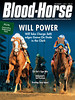 December 7, 2013 Issue 48 cover of the Blood-Horse featuring Will Take Charge winning the Clark Handicap at Churchill Downs.