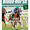 December 6, 2014 Issue 48 cover of the Blood-Horse featuring California Chrome and jockey Victor Espinoza winning the Grade I $300,000 Hollywood Derby at Del Mar.