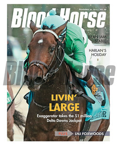 November 28, 2015 Issue 48 featuring Exaggerator winning the Delta Downs Jackpot