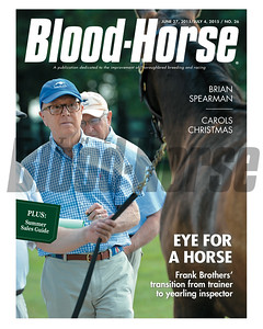 June 27 and July 4, 2015 Double Issue of Blood-Horse fetauring Frank Brothers