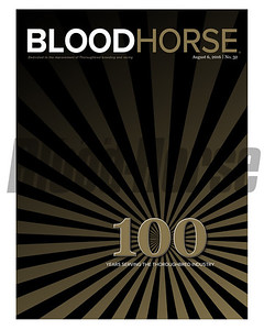 August 6, 2016 Issue 32 cover of BloodHorse featuring our official Centennial, 100 year celebration edition! A packed treasure trove of history, happenings, racing and more!