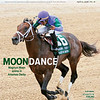 April 21, 2018 issue 16 cover of BloodHorse featuring Moon Dance at Magnum Moon scores in Arkansas Derby, Advances in Foaling, California's Rancho Temescal, In My Opinion - Bill Oppenheim.