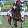 September 1, 2018 issue 36 cover of BloodHorse featuring Pay Dirt as Catholic Boy returns to main track, runs off with the Travers, Special Section: Leading Keeneland Book1 Consignors, In My Opinion: Bill Oppenheim, Taylor Made Farm in Photos.
