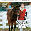November 23; 2019; issue 47; cover of Blood Horse; Rock Steady: Keeneland November sale figures nearly mirror last year's; Also Inside: Synthetics and 2-year-olds, Late-Season Championship Races, Book Excerpt: Spectacular Bid; On the cover: Hip 1882 and an Eaton Sales groom heading back to the barn at the Keeneland November Sale 2019.