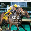 June 22; 2019; issue 25; cover of Blood Horse; Soul on a Roll: Charles Fipke's homebred Seeking the Soul scores in the Stephen Foster, Also Inside: Records Fall: OBS June Sale, Oracle Bloodstock, TVG's Matt Carothers, On the cover: Seeking the Soul and John Velazquez capture the Stephen Foster Stakes (G2) at Churchill Downs on June 15, 2019